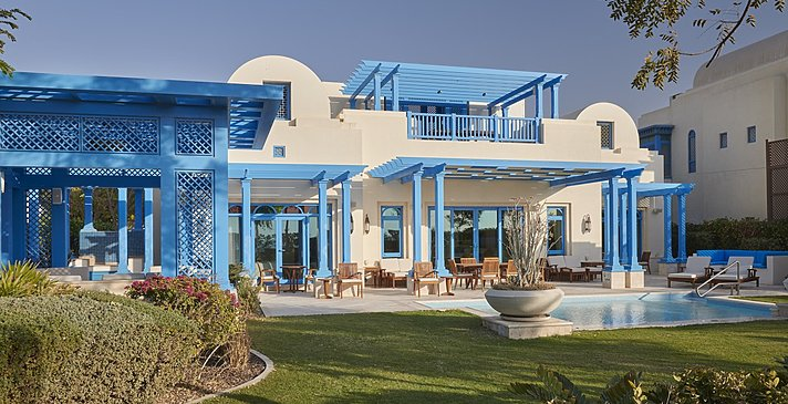 Two Bedroom Beach Villa mit Pool - Hilton Salwa Beach Resort