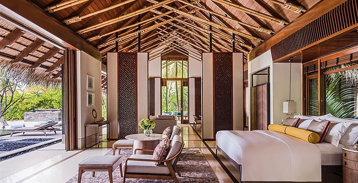 Two Bedroom Grand Beach Villa - One&Only Reethi Rah