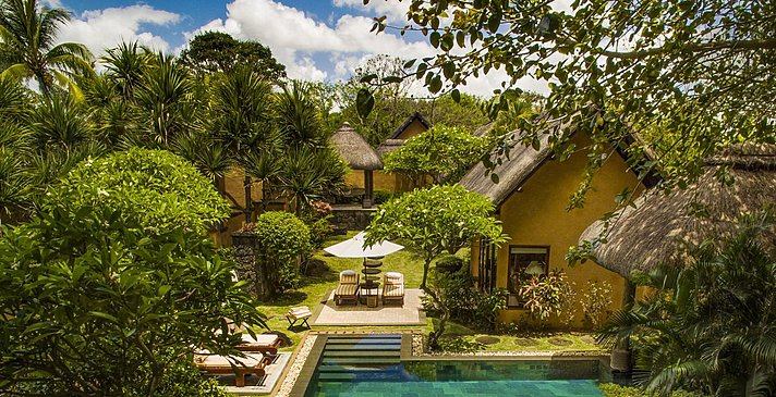Two Bedroom Luxury Villa mit privatem Pool - The Oberoi Beach Resort Mauritius