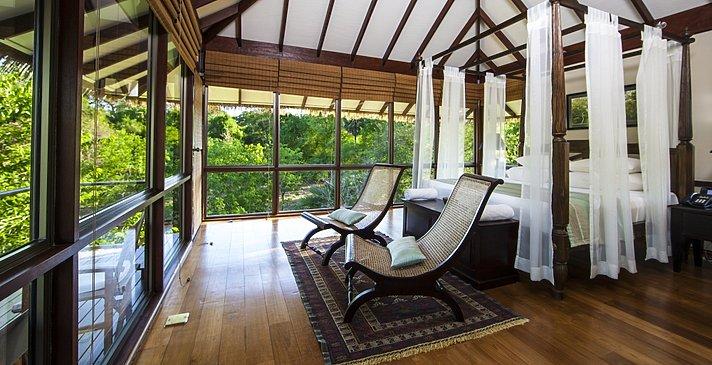 Ulagalla Villa Schlafzimmer