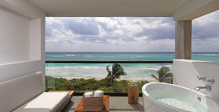 Alcoba Ocean View - King - Balkon - Unico 20°N 87°W
