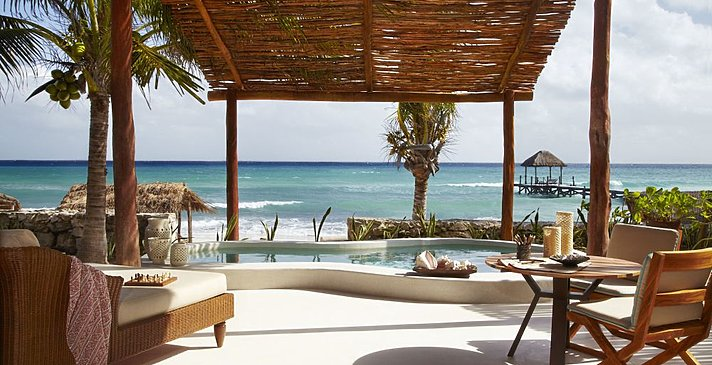 Beachfront Villa - Viceroy Riviera Maya