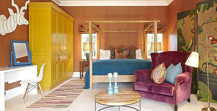 Courtyard Room - Villa Le Colonial - La Clé des Montagnes