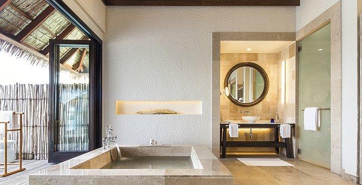 Water Suite Badezimmer - COMO Maalifushi