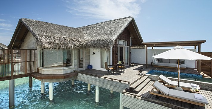 Water Sunrise Villa - Fairmont Maldives Sirru Fen Fushi