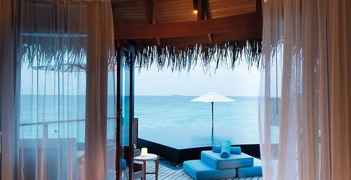 Water Villa Badezimmer - Constance Halaveli Resort