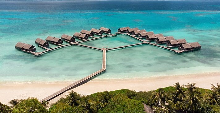 Water Villas - Shangri-La`s Villingili Resort and Spa