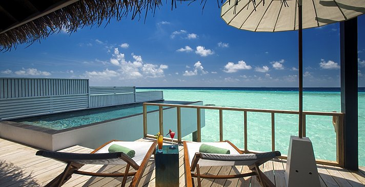 Wind Villa mit Pool - OZEN at Maadhoo