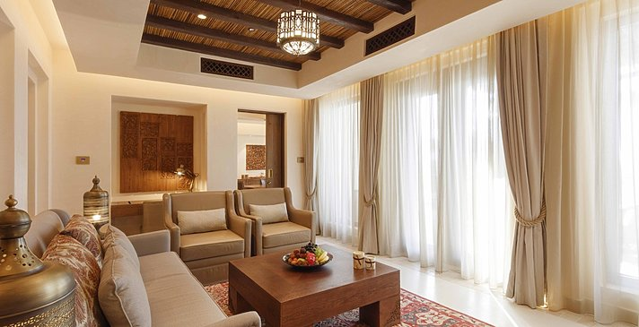 Wohnbereich One Bedroom Pool Villa - Al Wathba