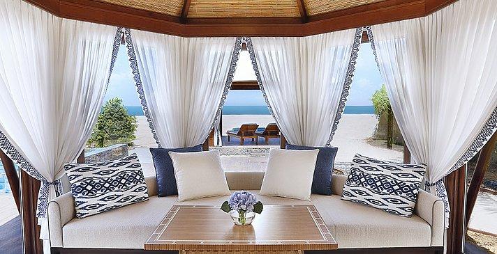 Wohnbereich der Villen - The Ritz-Carlton, Al Hamra Beach