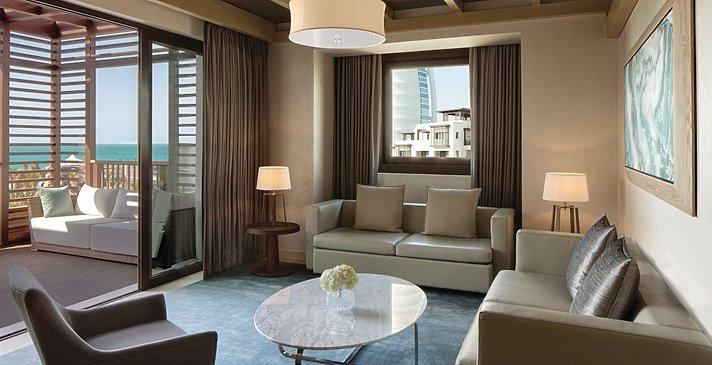 Wohnzimmer Family Suite - Jumeirah Al Naseem