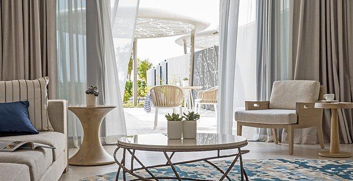 Wohnzimmer Ocean Terrace Suite