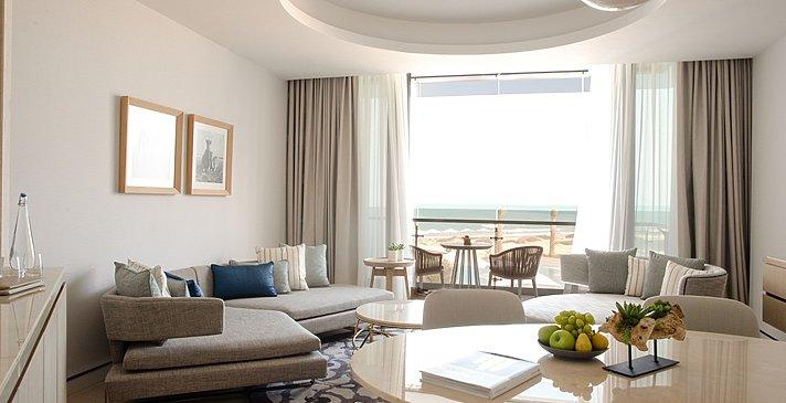Wohnzimmer Ocean- und Family Suite