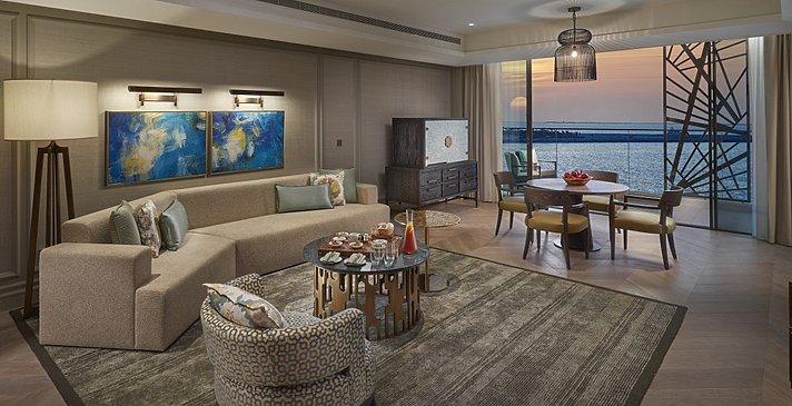 Wohnzimmer Premier Sea View Suite