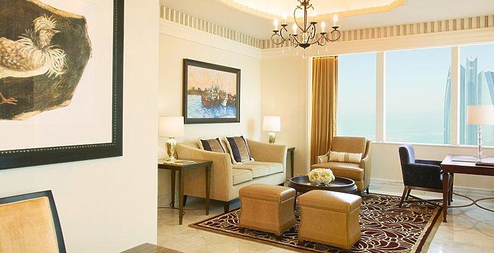 Wohnzimmer St. Regis Suite - The St. Regis Abu Dhabi
