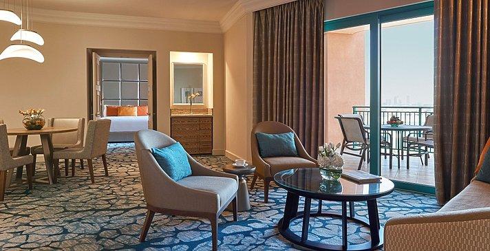 Wohnzimmer Terrace Club Suite