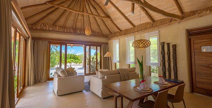 Wohnzimmer - White Sand Luxury Villas & Spa