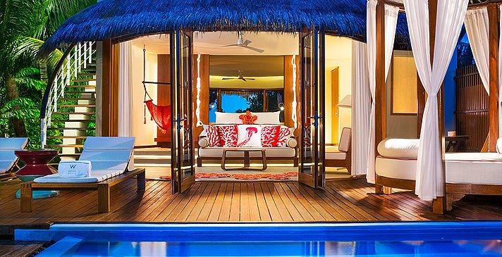 Wonderful Beach Oasis - W Maldives