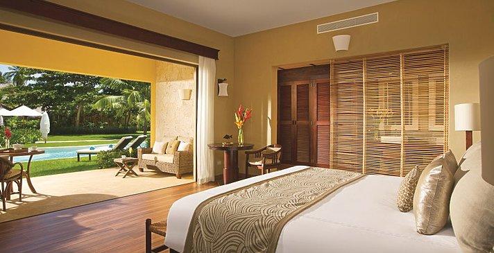 Romantic Junior Suite Agua Garden View - Zoëtry Agua Punta Cana