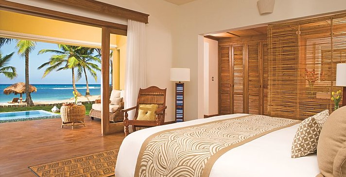 Junior Suite Oceanfront Deluxe - Zoëtry Agua Punta Cana