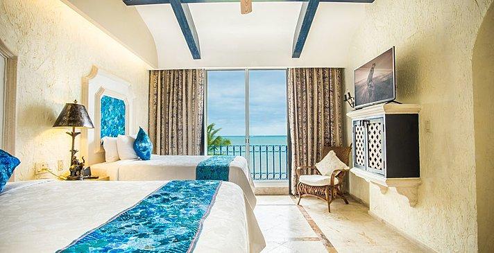Ocean Front 1 BR Suite mit Terrasse - Zoetry Paraiso de la Bonita