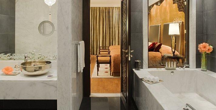 Grand Deluxe Badezimmer - Jumeirah Zabeel Saray