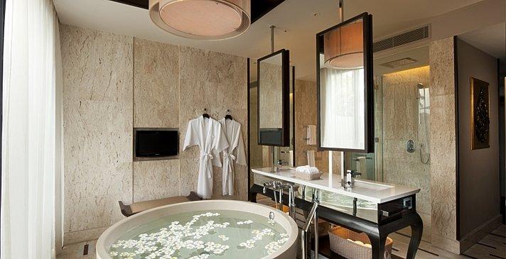 Conrad Samui - Oceanview Pool Villa Badezimmer