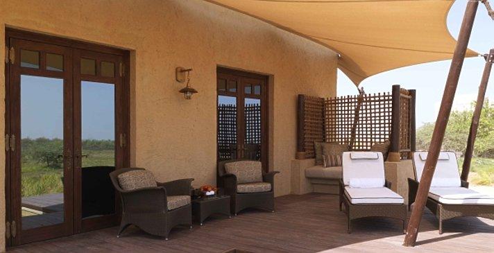 Terrasse mit Plunge-Pool - Anantara Al Sahel Villa Resort