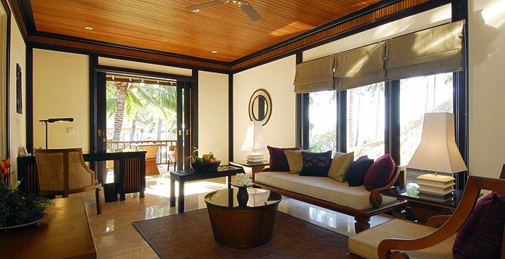 Spa Village Resort Tembok - Villa Wohnzimmer
