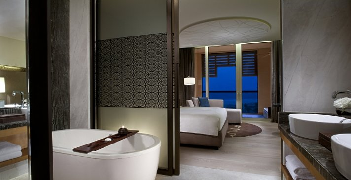 Park bzw. Sea View Room Badezimmer - Park Hyatt Abu Dhabi Hotel and Villas