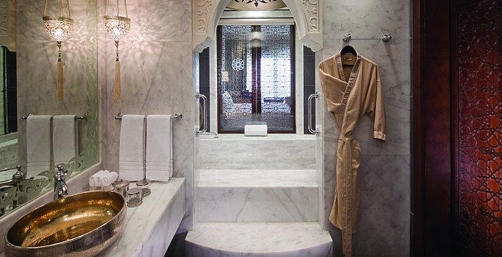 Superior, Deluxe (Club) oder Premium Room Badezimmer - Jumeirah Zabeel Saray