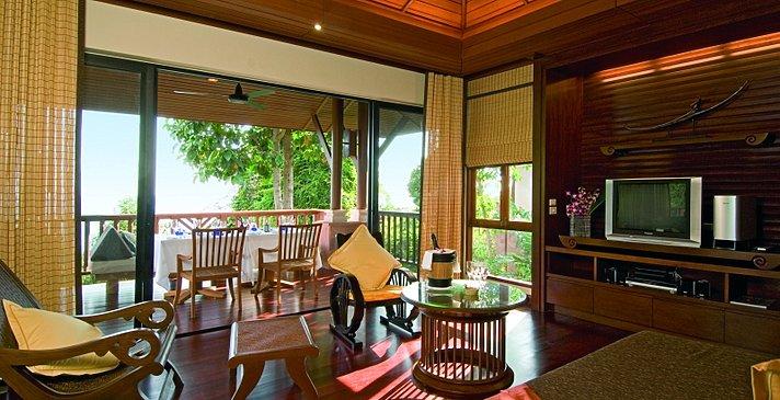 Pimalai Resort & Spa - Pool Villa Wohnzimmer