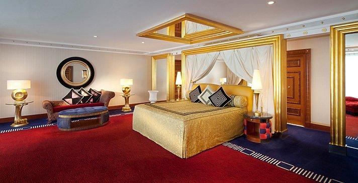 2-Bedroom Deluxe Suite Hauptschlafzimmer - Burj Al Arab Jumeirah