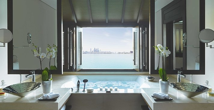One Bedroom Overwater Villa Badezimmer - Anantara Dubai The Palm Resort & Spa
