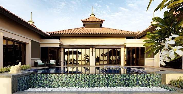 Two Bedroom Beach Pool Villa - Anantara Dubai The Palm Resort & Spa