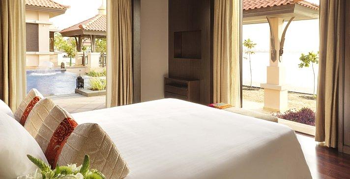 Two Bedroom Beach Pool Villa Schlafzimmer 1 - Anantara Dubai The Palm Resort & Spa