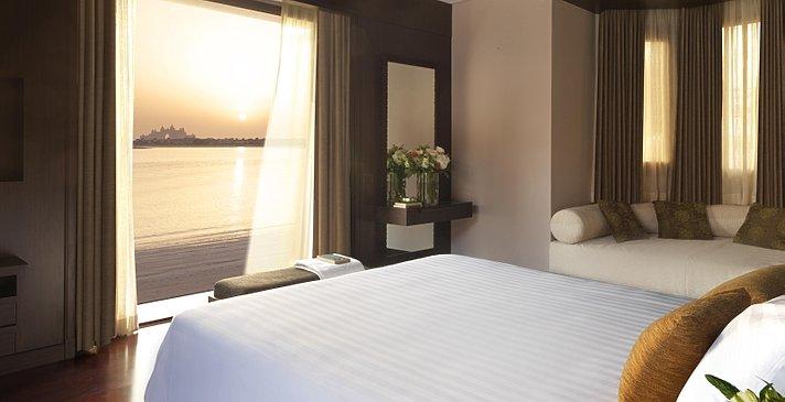 Two Bedroom Beach Pool Villa Schlafzimmer 2 - Anantara Dubai The Palm Resort & Spa