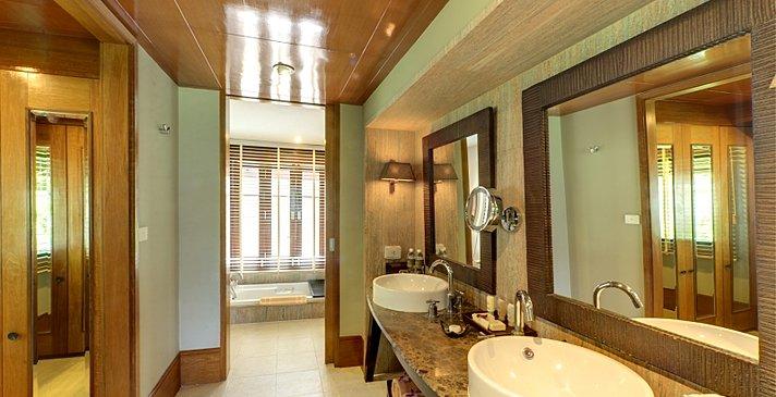 Ocean Deluxe Suite Badezimmer - Layana Resort & Spa