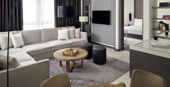 Junior Suite Wohnbereich - Vida Downtown Dubai
