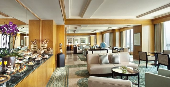 Club Lounge - The Ritz-Carlton DIFC