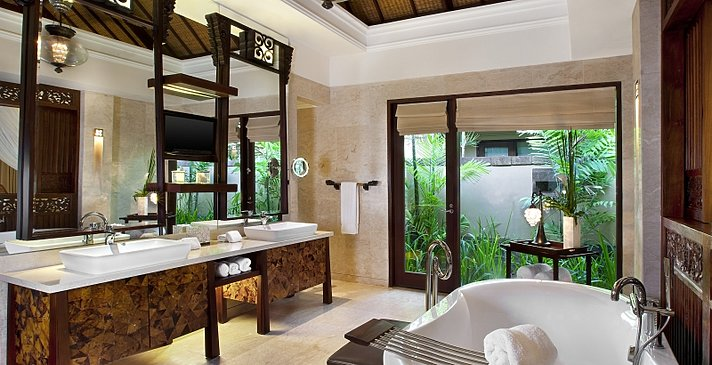 The St. Regis Bali Resort - Villa Badezimmer