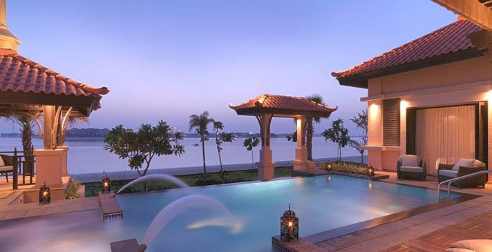 Two Bedroom Beach Pool Villa Privatpool - Anantara Dubai The Palm Resort & Spa