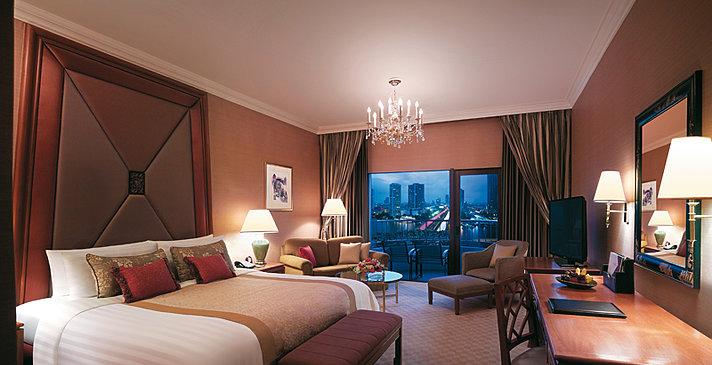 Shangri-La Hotel Bangkok - Krunghtep Deluxe Balcony Room