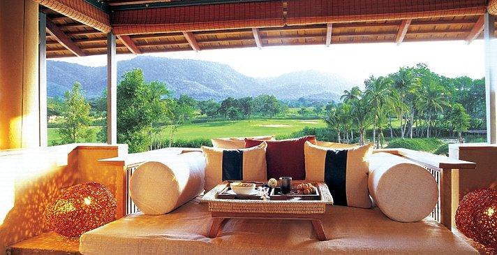 Balkon mit Tagesbett