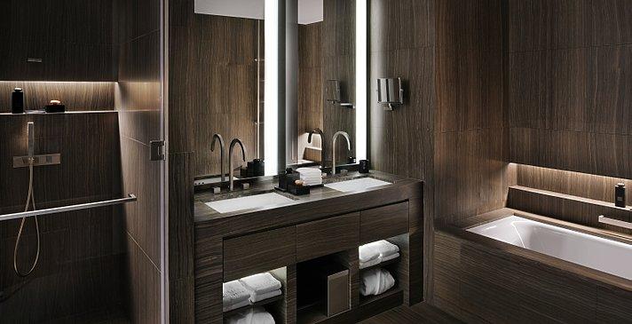 Badezimmer Armani Classic Room - Armani Hotel Dubai