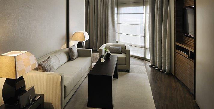 Wohnzimmer Armani Classic Room - Armani Hotel Dubai
