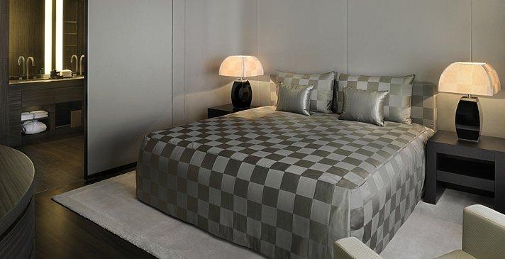 Schlafzimmer Armani Classic Room - Armani Hotel Dubai