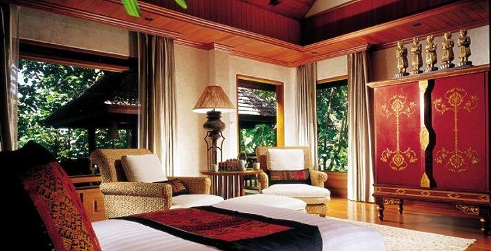 Four Seasons Resort - Pavilion Schlafzimmer