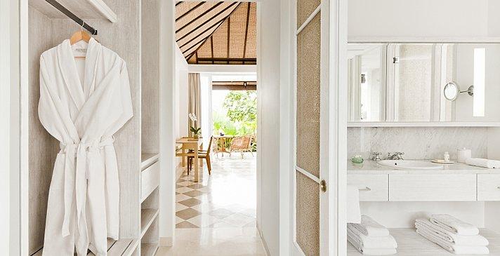 Terrace Room - Badezimmer - COMO Uma Ubud