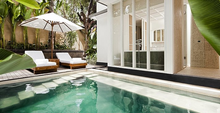 Pool Suite - Privater Plungepool - COMO Uma Ubud